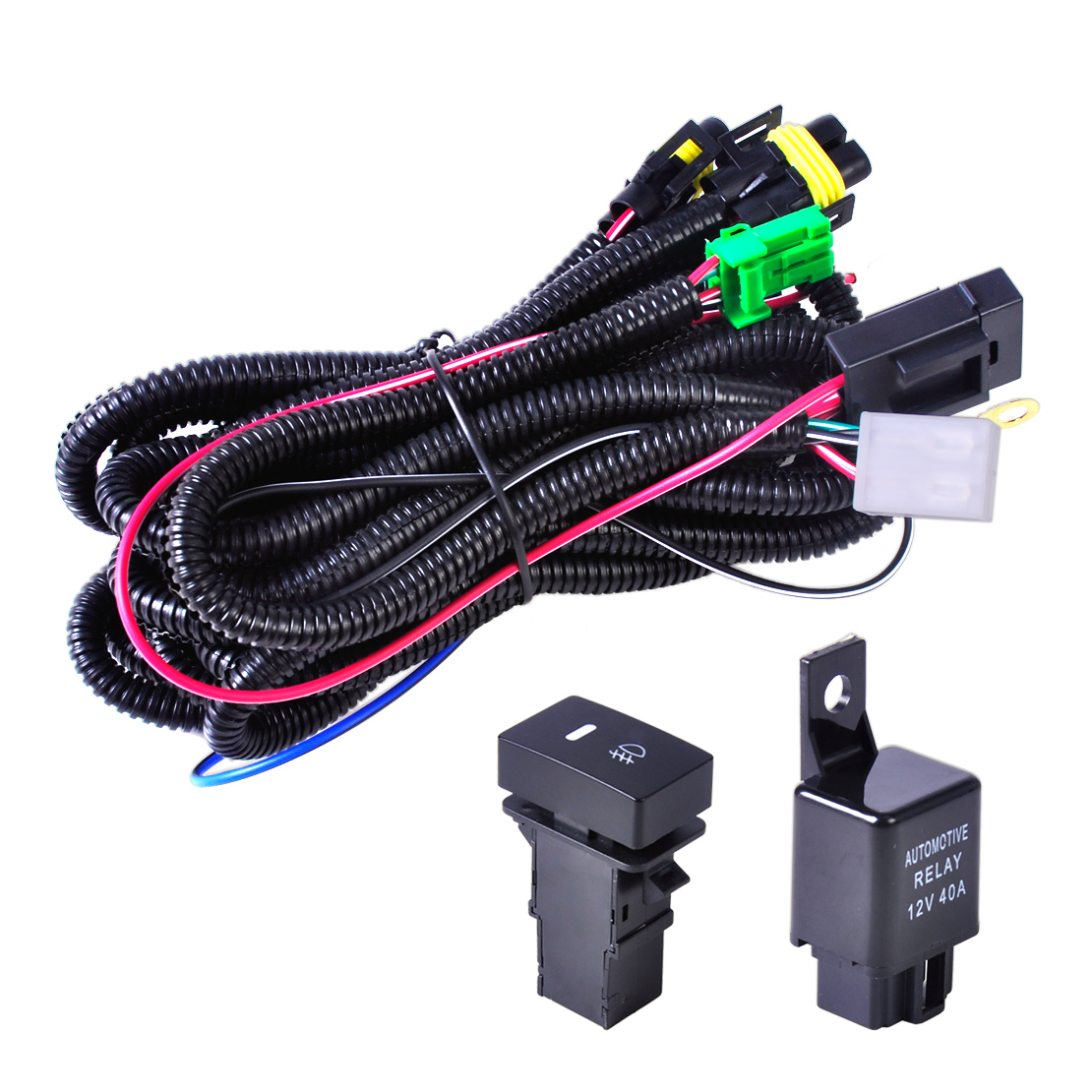 ford focus acura nissan wiring harness sockets switch. Black Bedroom Furniture Sets. Home Design Ideas