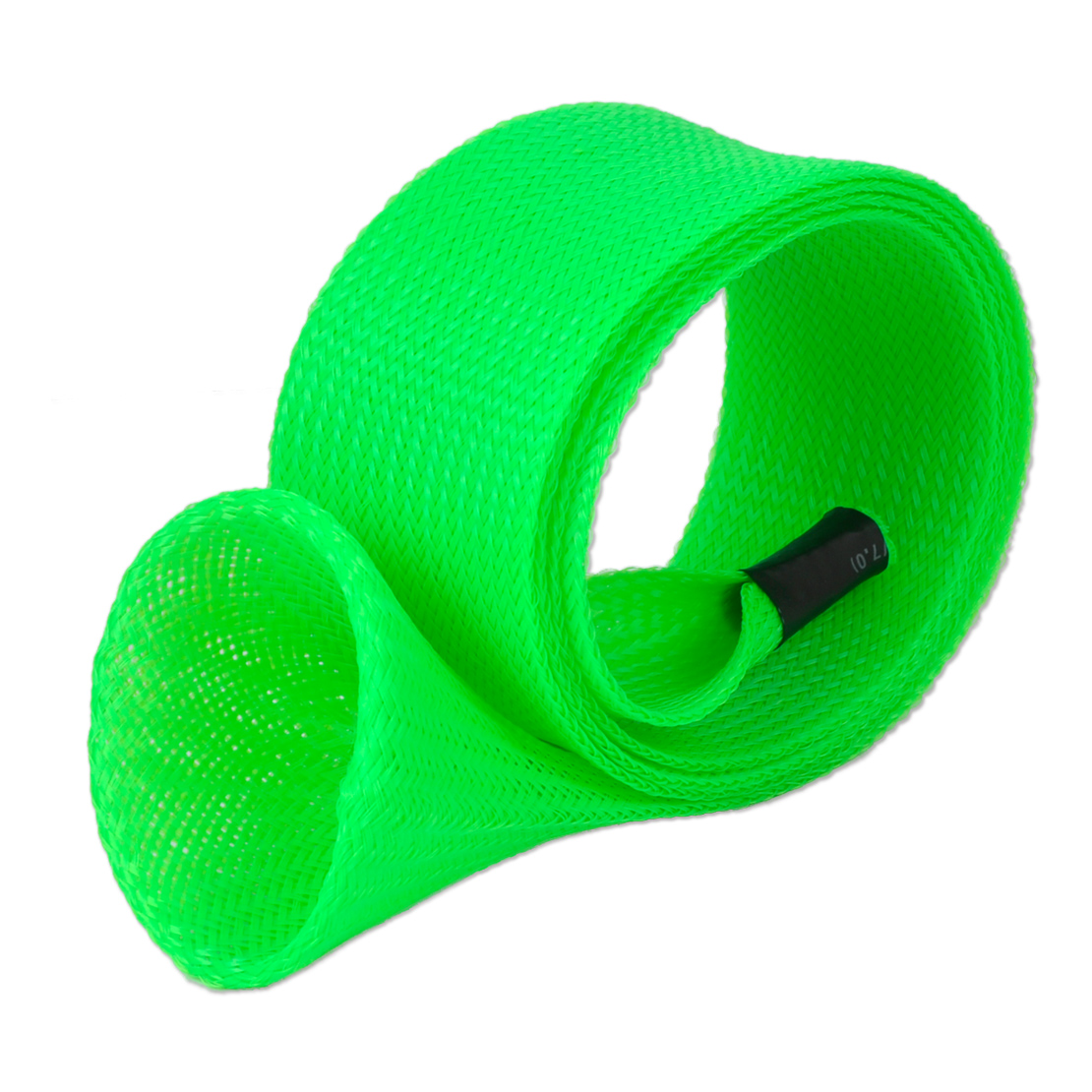 Diy skin spining fishing rod braided cable sleeve pole for Fishing pole sleeves