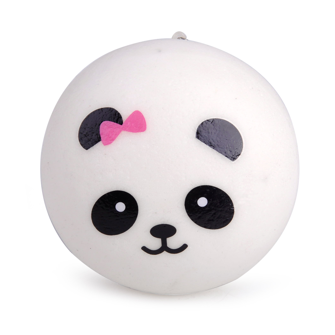 7cm Jumbo Panda Squishy Charms Kawaii Buns Bread Cell Phone Key/bag Strap Pendant Squishes Bag Accessories Luggage & Bags
