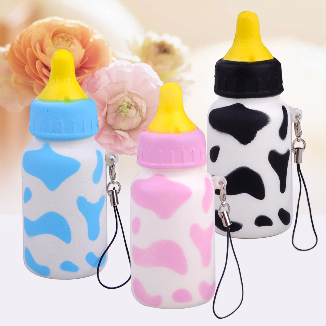 10cm squishy saugflasche weich flasche duftend spielzeug baby shower party deko ebay. Black Bedroom Furniture Sets. Home Design Ideas