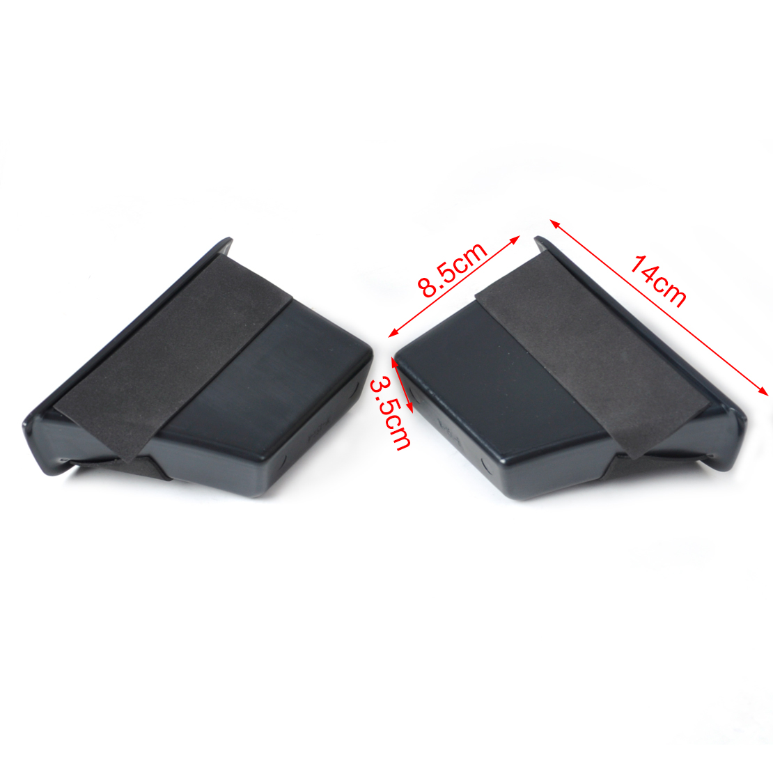 2xrear door storage box armrest container phone holder for for Mercedes benz phone mount