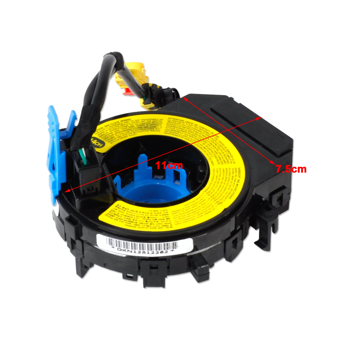 Black Airbag Spiral Cable Clock Spring 93490 3q120 For