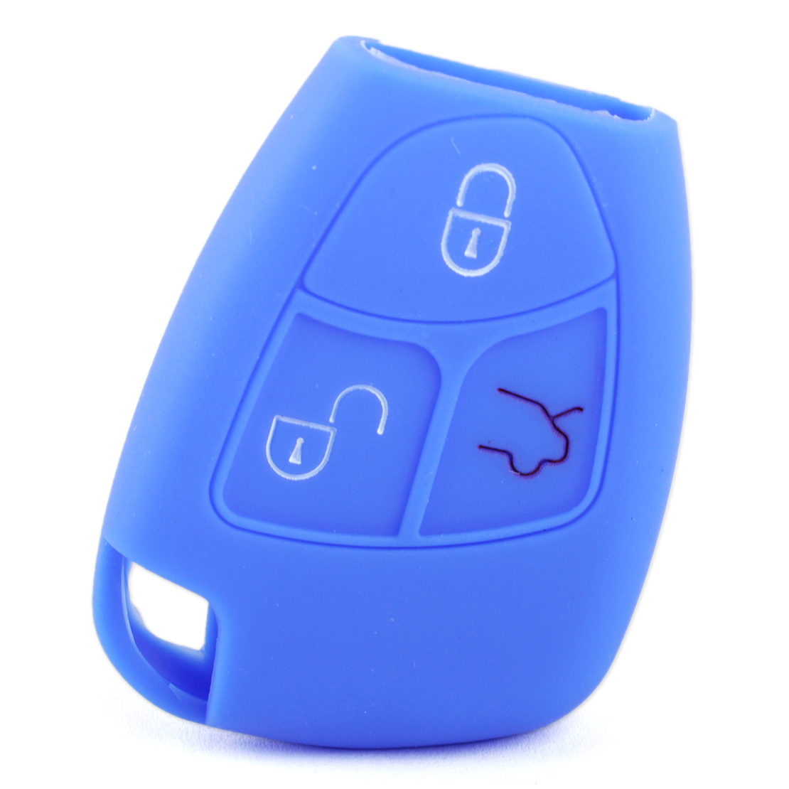 3 Buttons Silicone Car Key Cover Case Remote Fob fit for BMW Mini Cooper 2002-07