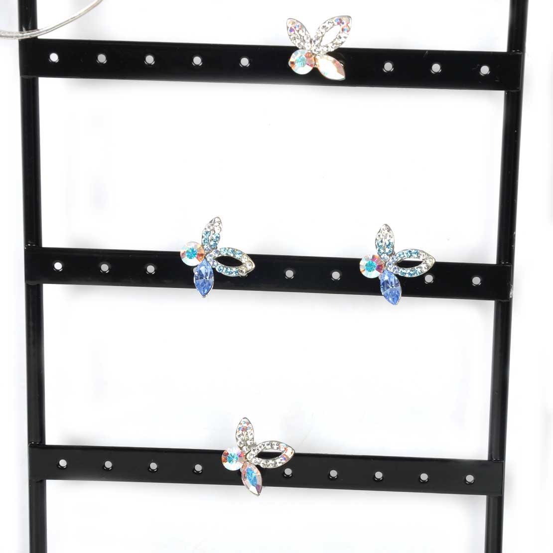 metal wall mounted stand holder rack jewelry earring