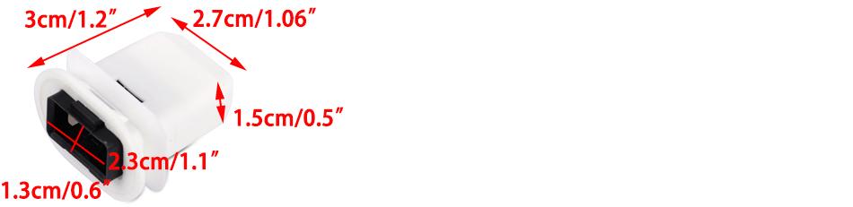 New 2Pcs Rear Row Seat Cushion Frame Grommet Fit for Audi Q7 A4 A6 Quattro S4 S6 4L0886373 NGEXT-25-11