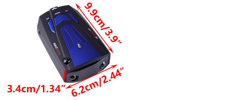 16 band v7 radar detector user manual