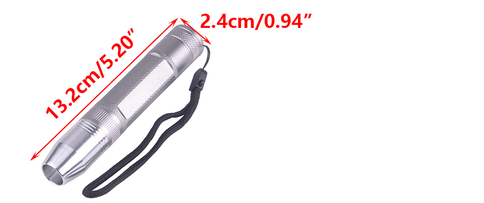 Flashlight Torch Light Super Bright Lamp350 Lumen fit for Jade Jeweler Appraisal