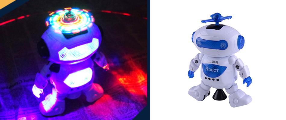 Kinderspielzeug Roboter,Intelligente Walking tanzende Tanzen