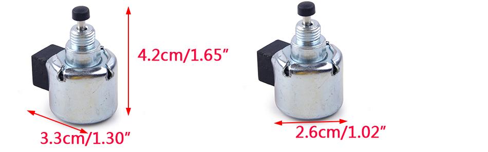 12 757 33/S /& 1275733 12 New Fuel Magnetventil Ersatz Kit f/ür KOHLER auf Nr 757 09