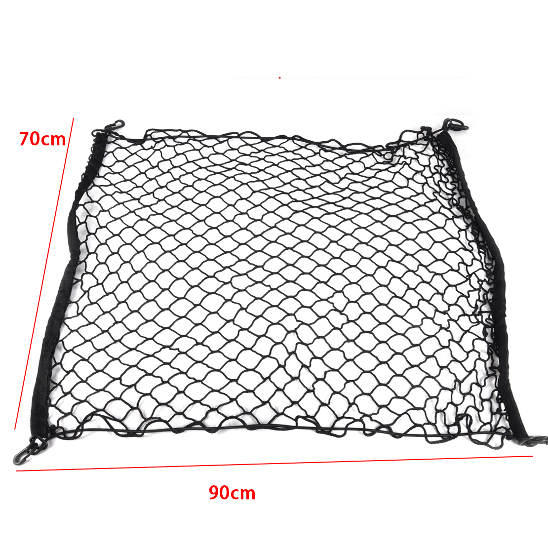 car rear cargo organizer storage net flexible for suv 4300mm  u2264 length  u2264 5000mm 702142552897