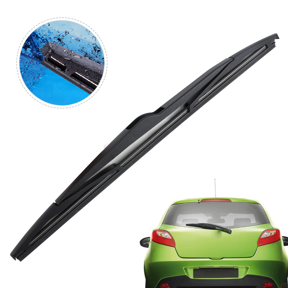 Rear Window Windshield Wiper Blade For Mazda 3 2003 2005 2006 2007 2008 2009 New Ebay