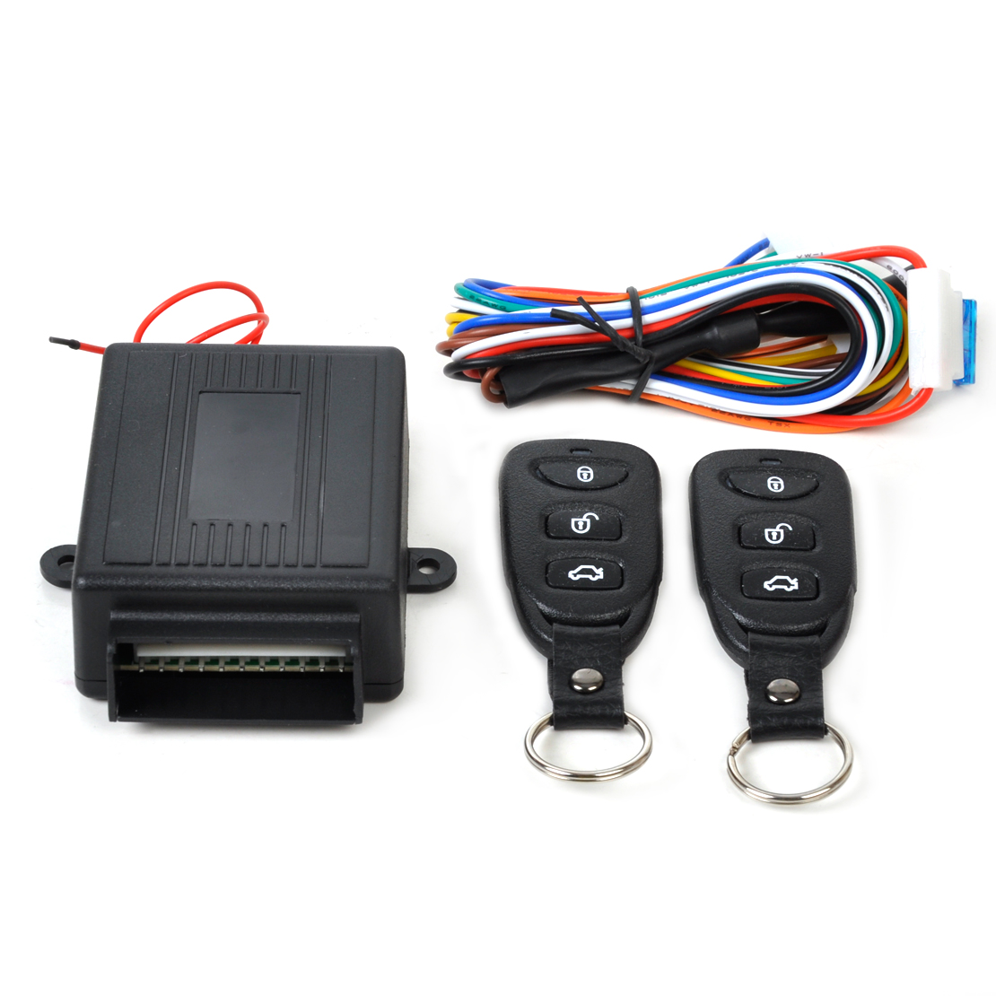 Universal Car Keyless Entry System Kit Remote Control