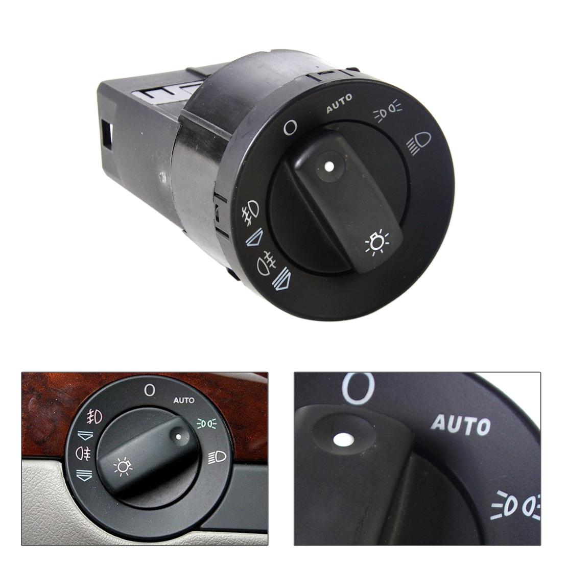 Headlight Fog Light Switch Control Cover Kit For AUDI A4 S4 8E B6 B7 2000-2007