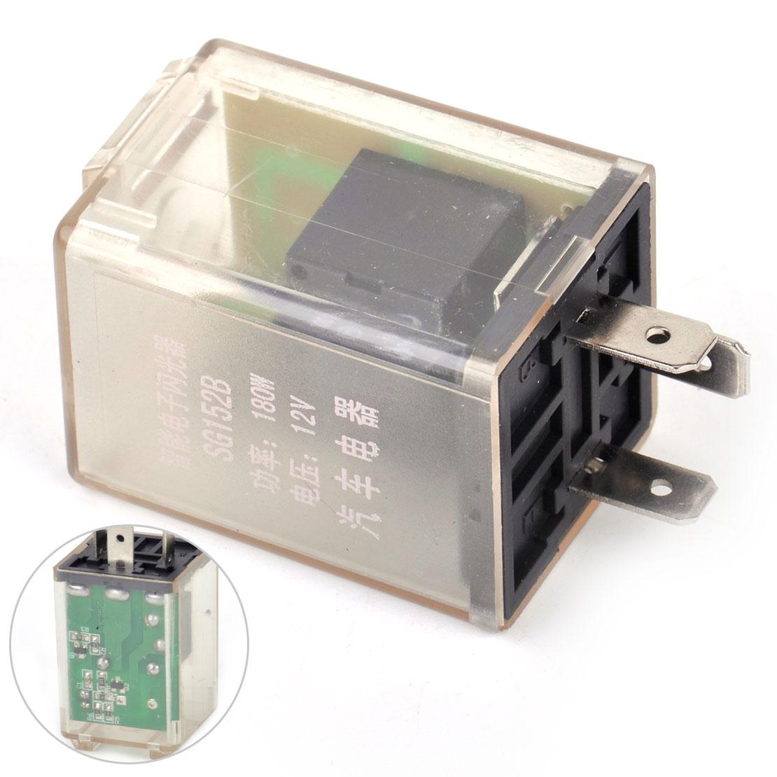 Universal Blinkgeber Blinkrelais 12V 180W 3polig Flasher Unit NAGARES