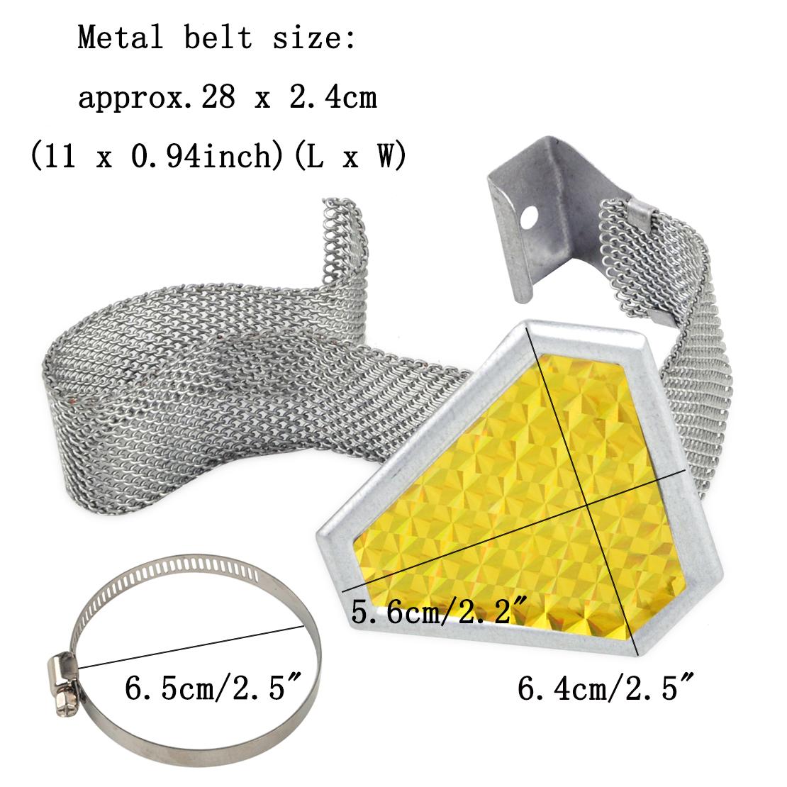 Car Anti Static Reflective Belt Warn Reflector Noise