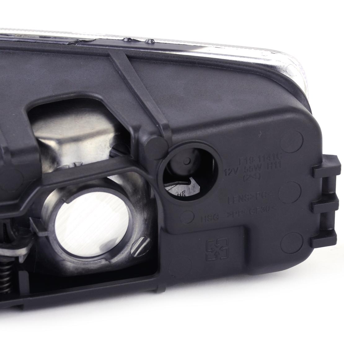 1Pair Front Fog Light Lamp Cover Fits Honda Accord 33951-SDA-H01 33901-SDA-H01