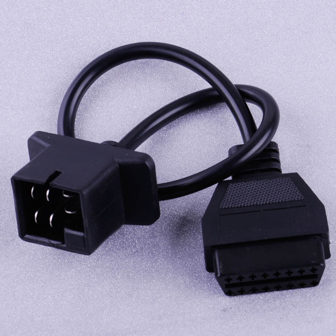Details about 6 Pin OBD to OBD2 Check Engine Adapter Cable Code Reader For  Chrysler Jeep Dodge