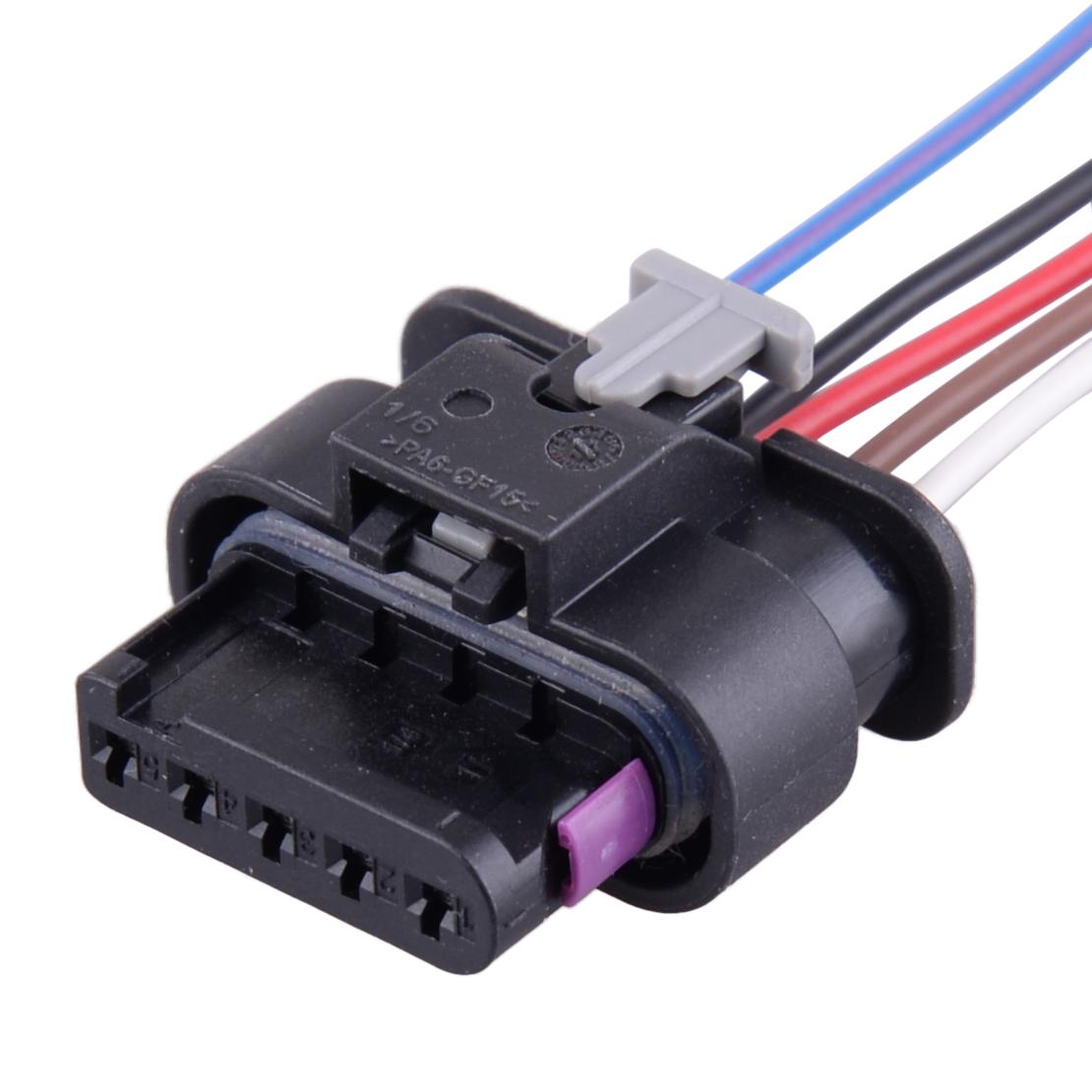 Luftmassenmesser MAF Kabel Stecker Verbinder für VW Jetta AUDI A4 A6 4F0973705