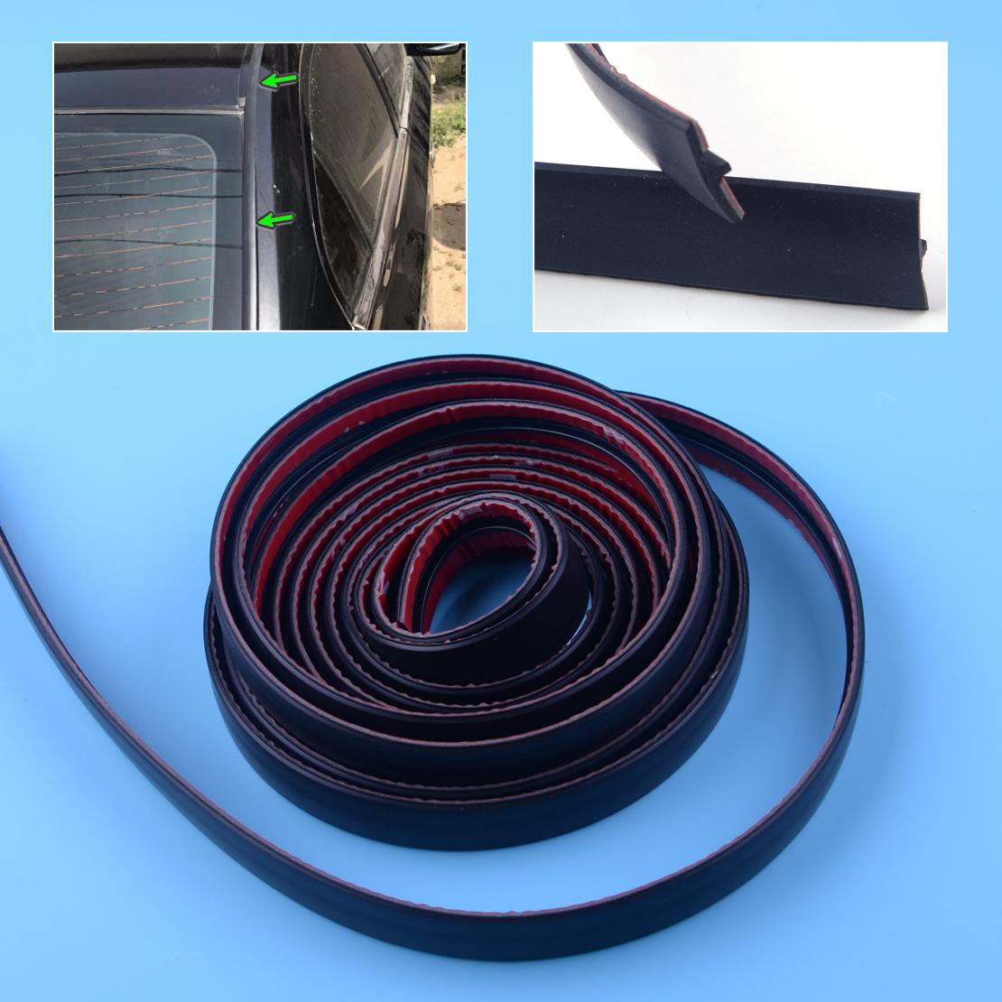 "3M 118/"" Car Front Rear Windshield Window Weatherstrip Rubber Seal Strip Trim New"