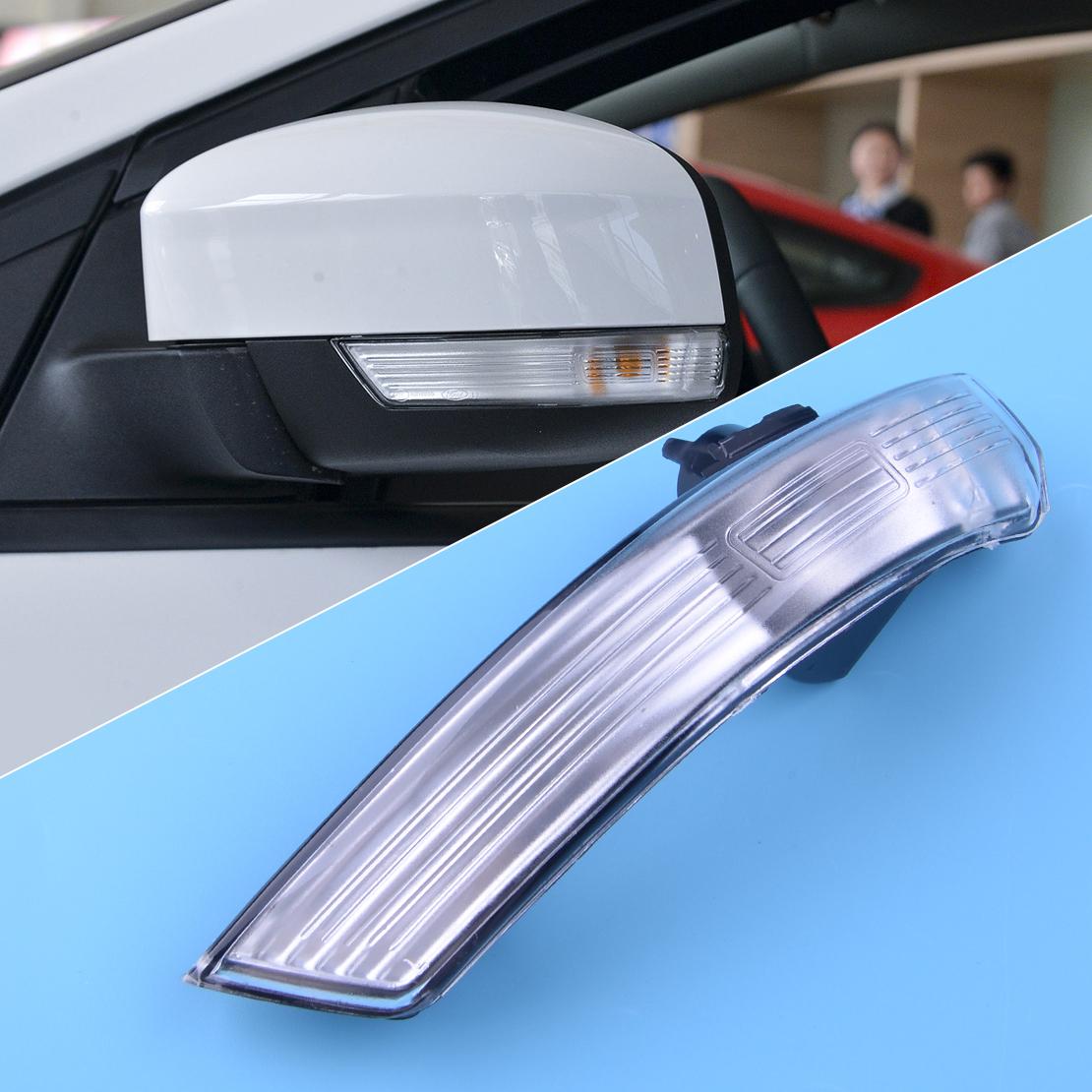 For Ford Focus 2008-2016 Left Wing Mirror Indicator Lens Turn Signal Light Frame