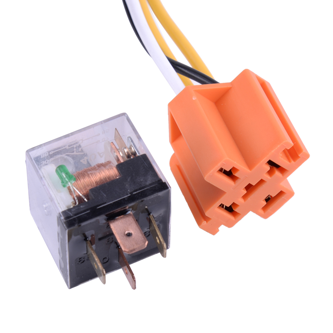 12v Electric Horn Relay Wiring Harness Kit Fit For Grille