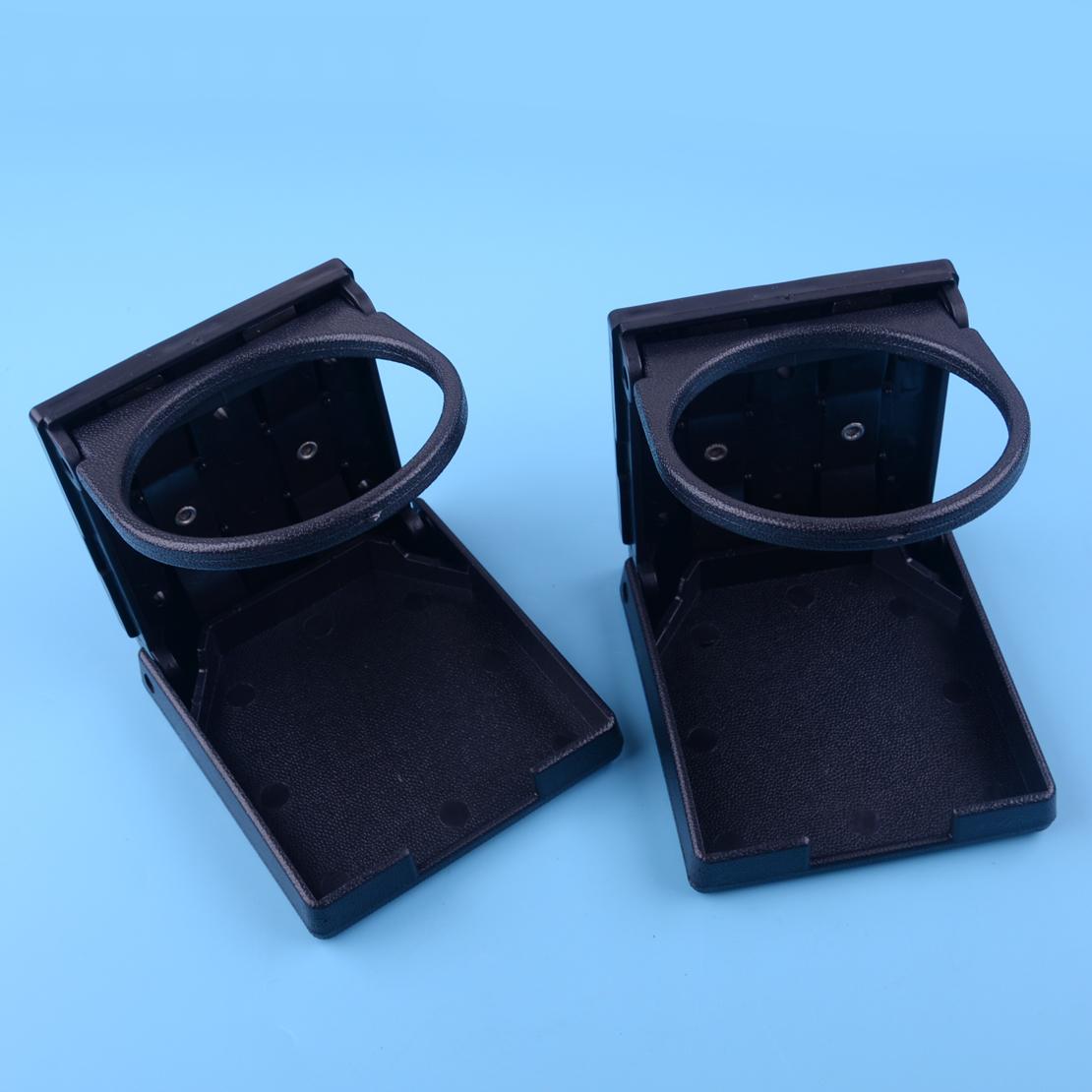Dual Adjustable Folding Drink Cup Holder For Boat Marine Car RV Truck SUV Van UK