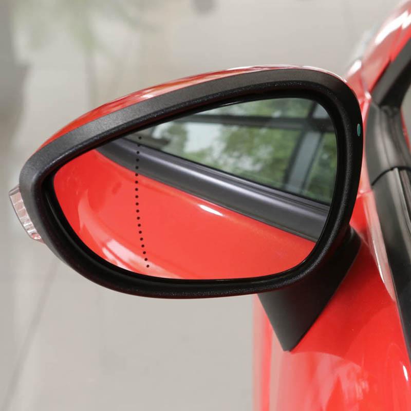 Black Wing Regenschutz Abdeckung f/ür Ford Fiesta MK7 2008-2017 Auto Spiegel Abdeckung Auto Links//Rechts Spiegelkappe Left