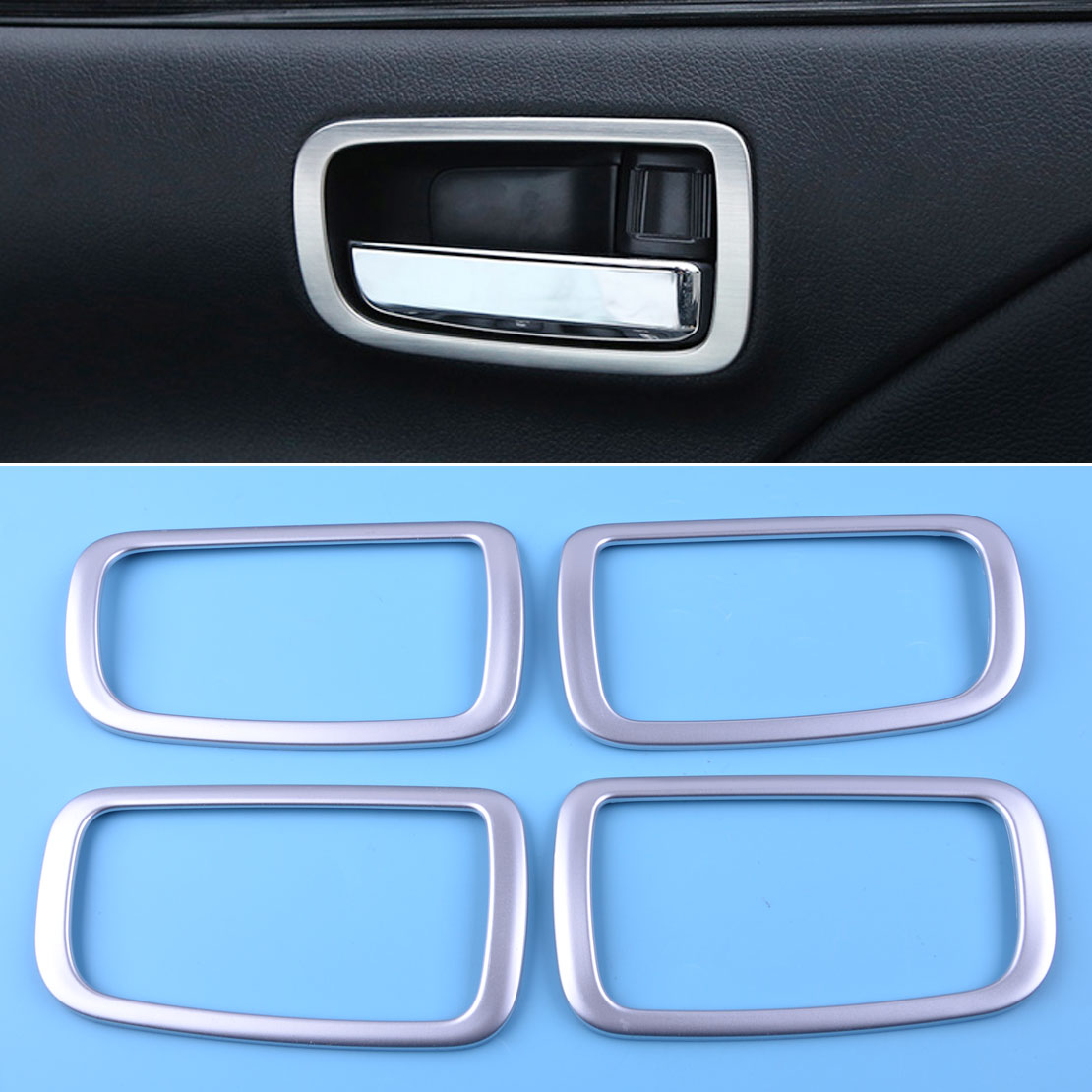 Chrome Interior Switch Molding Trim Cover for 09-13 Tucson ix35