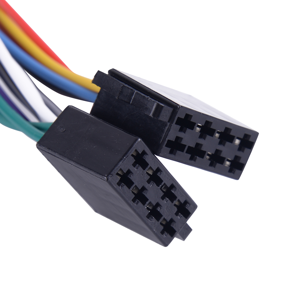 Iso Wiring Harness Adaptor Connector Fit For Toyota Aurion