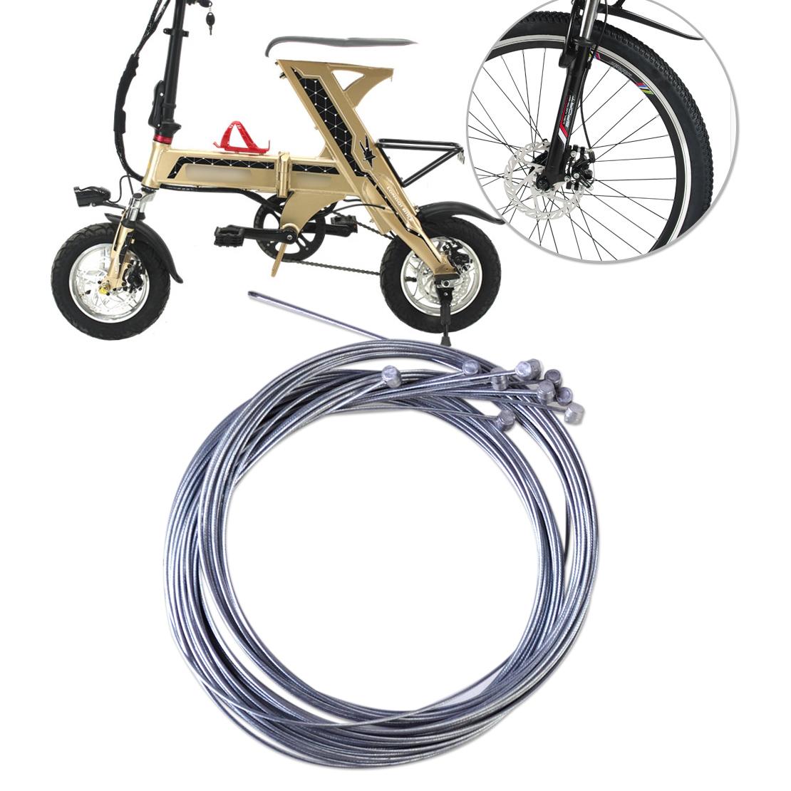 3 Meter Fahrrad Universal Schaltzug Schaltseil Bremskabel Bowdenzug 4 mm