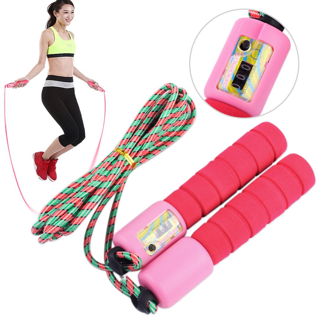 Corde à sauter avec compteur Speed Jump Rope sprungseil Corde Fitness Traning Sport