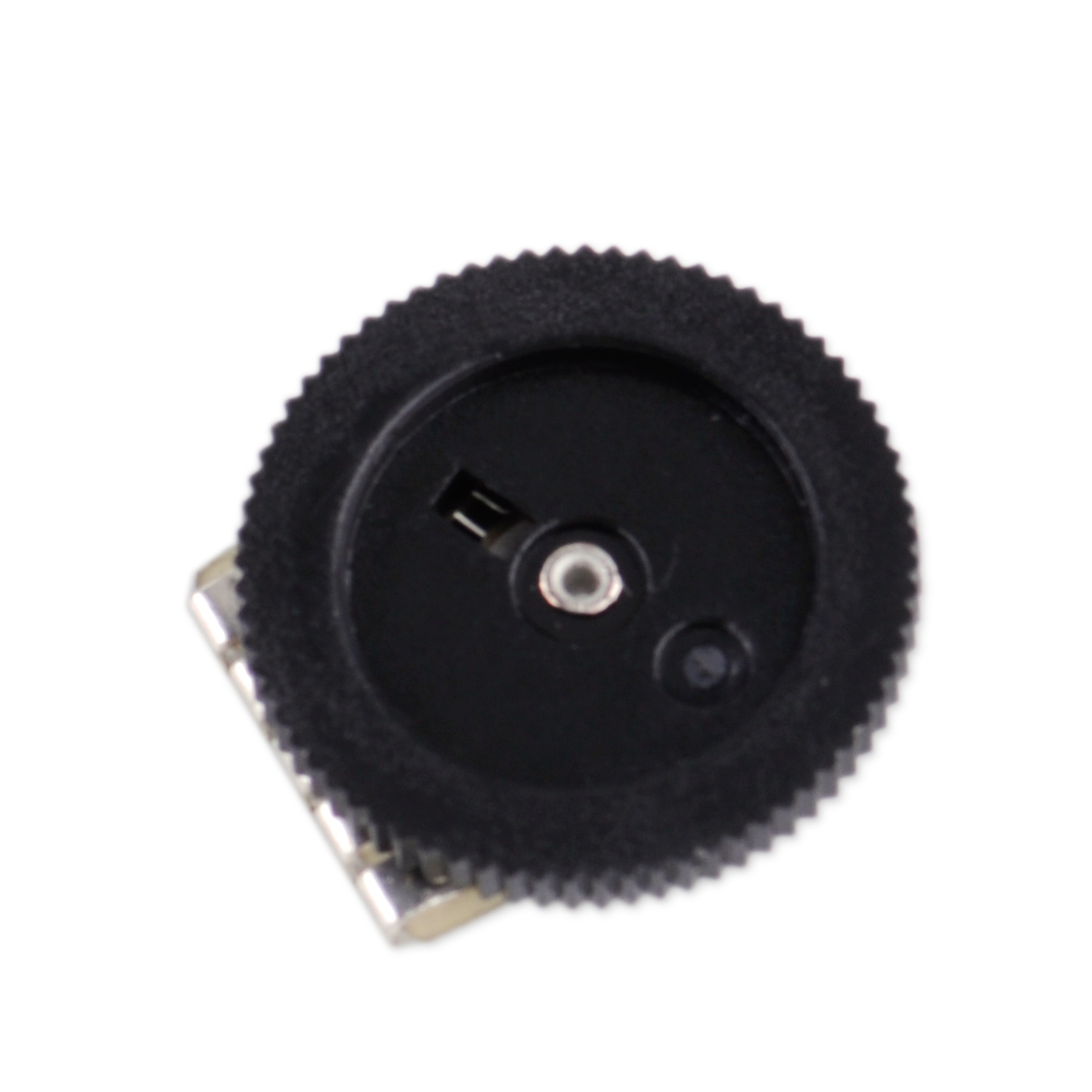 5pcs B103 10K Double Dial Wheel Duplex Gear Potentiometer fit for Radio Stereo.