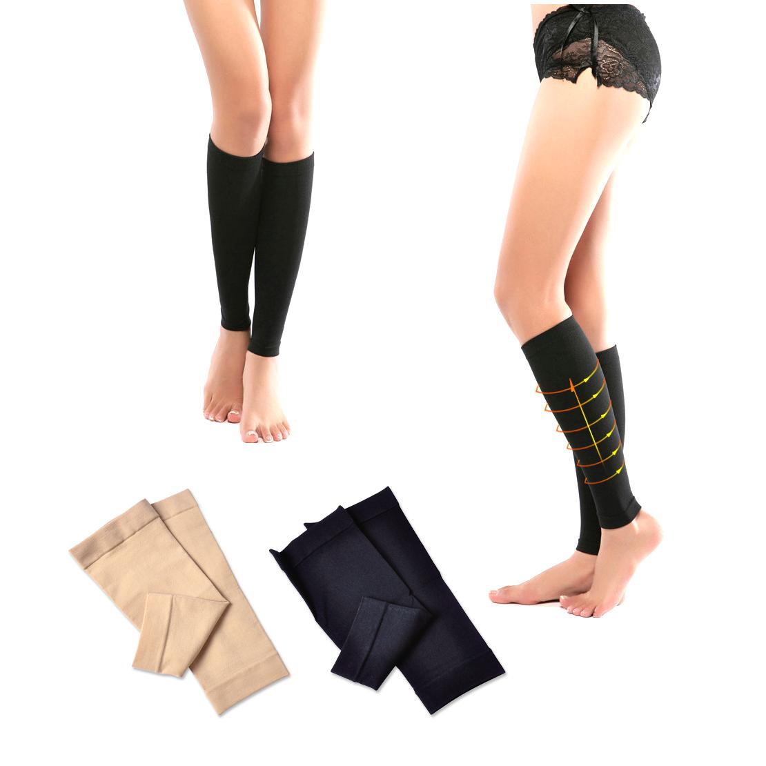 Kalb Kompression Hülse Bein Socke Shin Splint Guard für Sport Basketball NEU