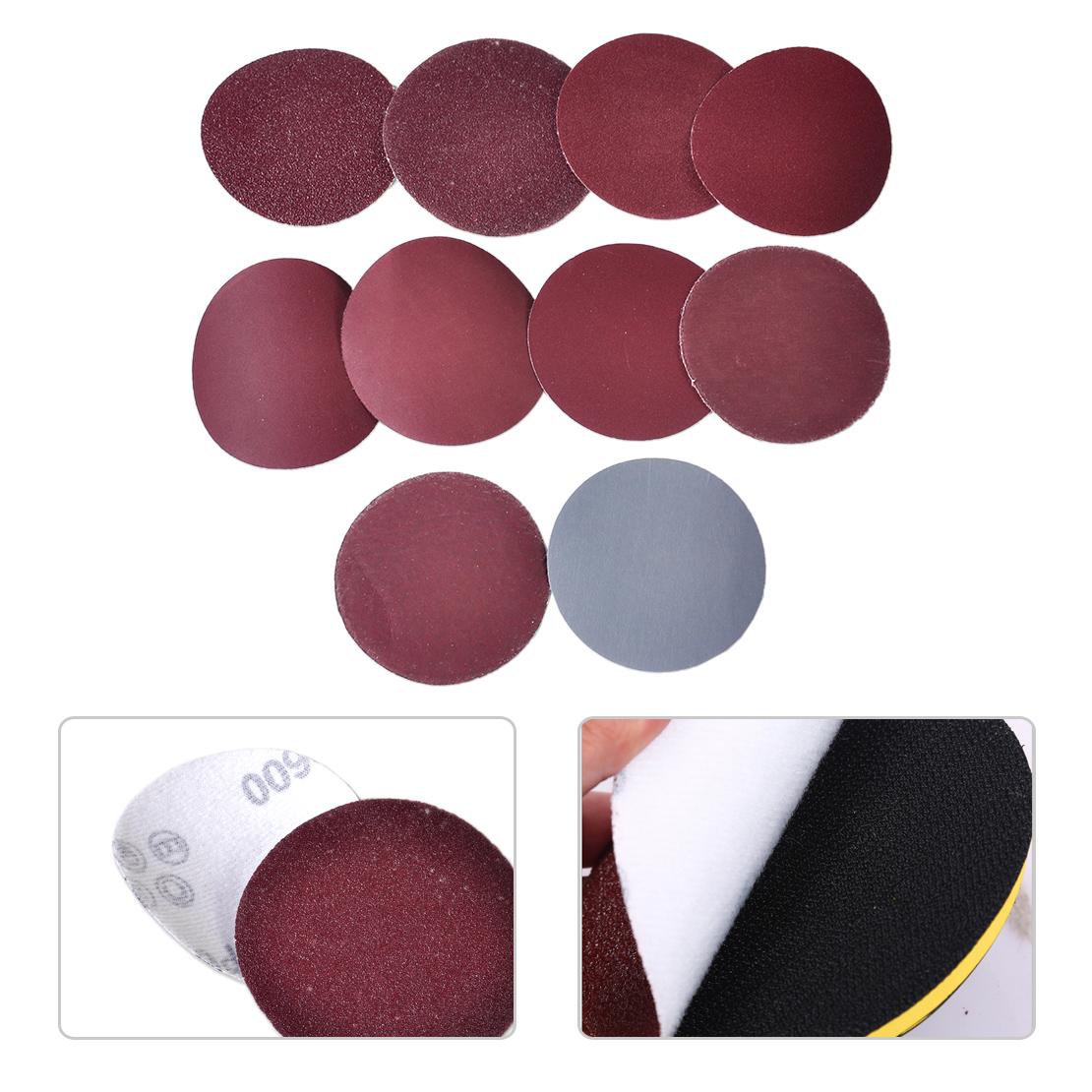 Details about  /Mix set 7 inch Sanding Disc Sanding Pad Polishing Pad Sandpaper 100pcs 180mm