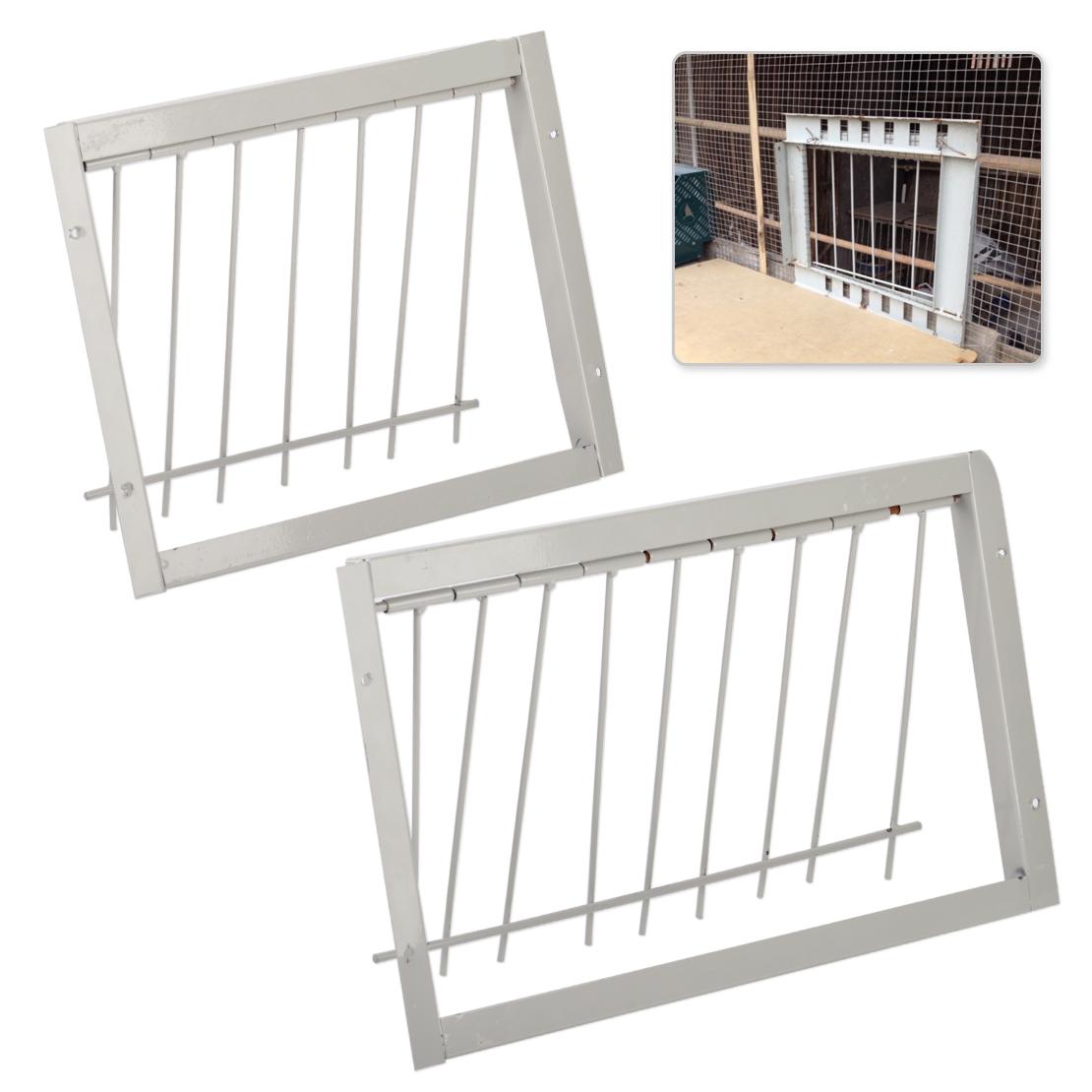 40CM Iron Racing Pigeon Door Wire Bar Frame Loft Bird