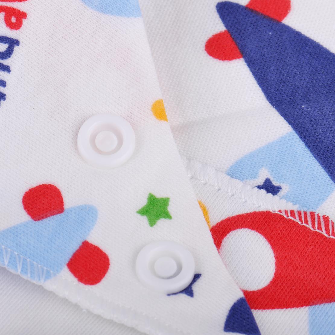 5x Baby Dreieck Handtuch Baumwolle Dreieckstuch Kinder Halstuch Triangle Bibs