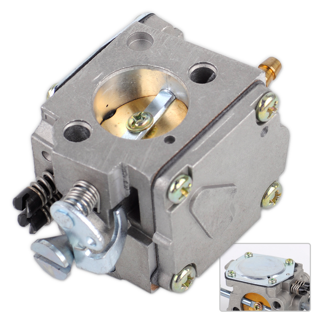 Carb Carby Carburetor To Fit HUSQVARNA 61 268 266 272 XP Chainsaw Motor Part