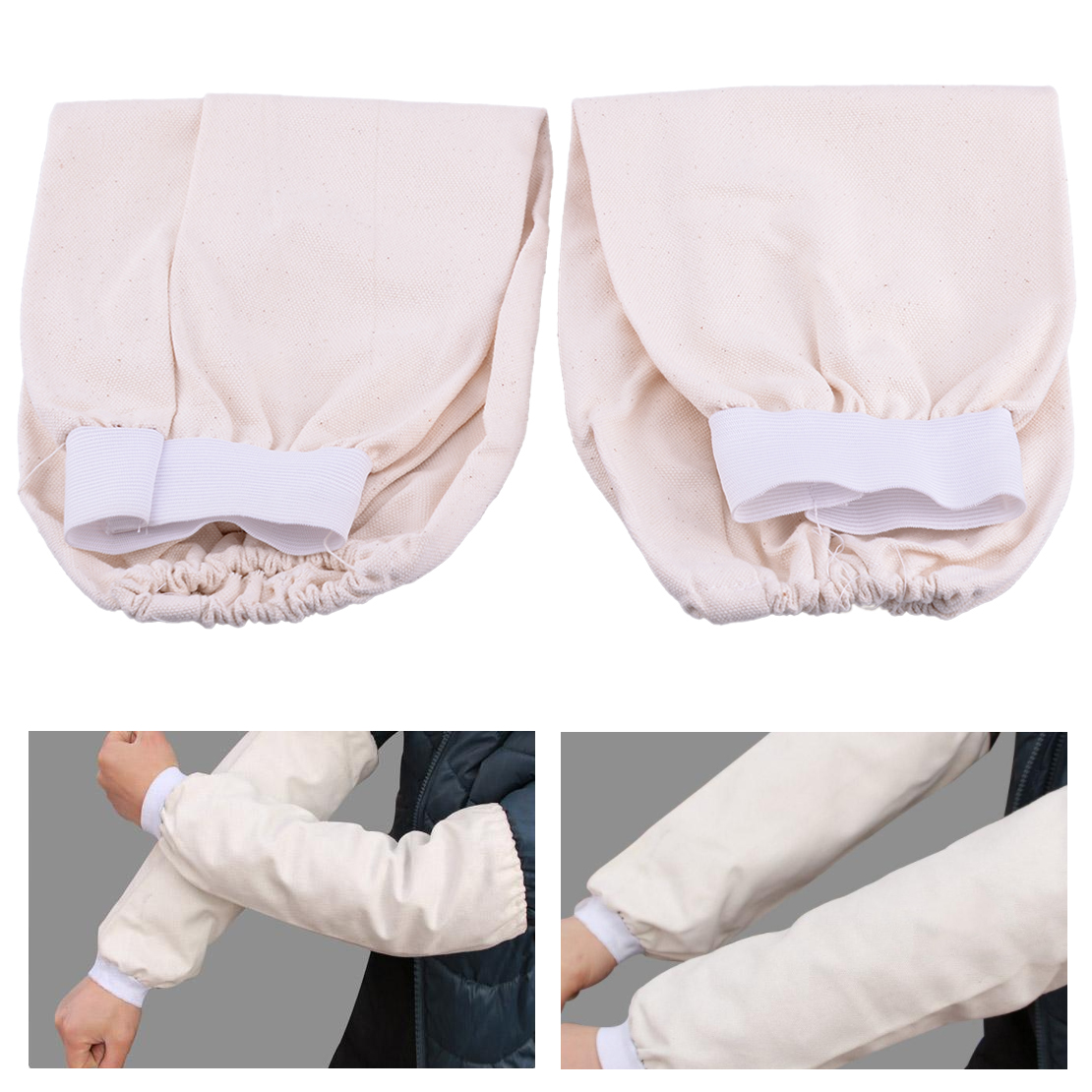 CHCP01 2PCS FR SLEEVES COTTON FABRIC STANDARD FLAME RESISTANT SLEEVE Sleeves NEW