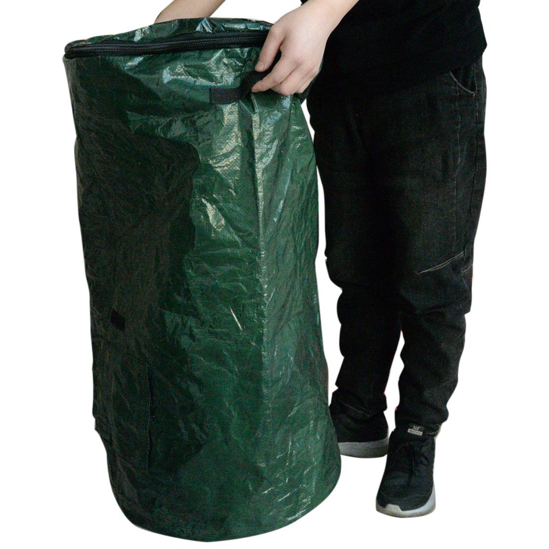 ☀️ 3 Stück Gartensäcke 450 Liter 112 cm hoch Gartensack Rasensack BIG BAG BAGS