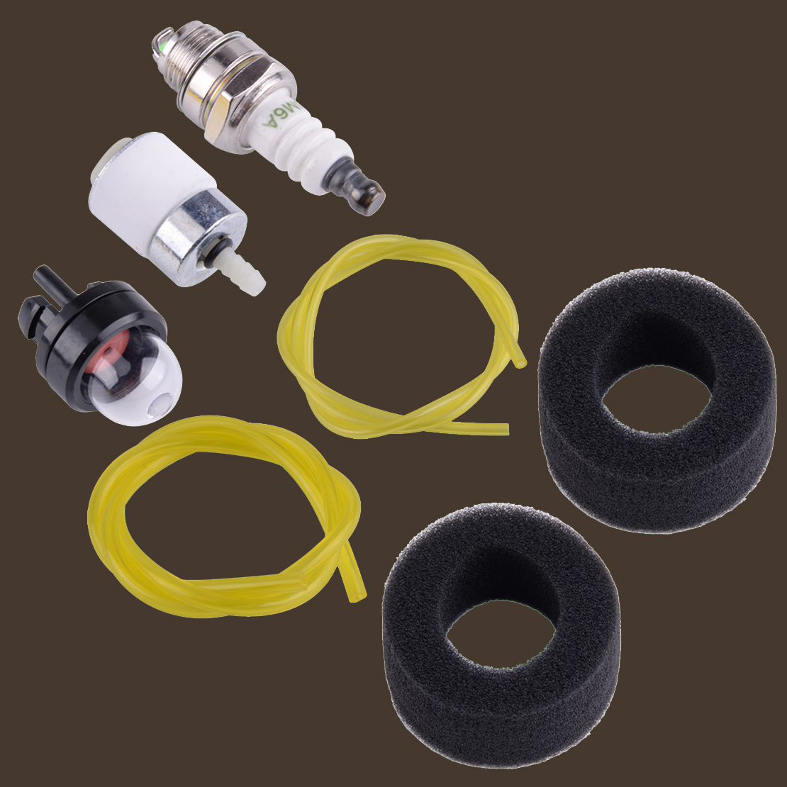 Air Filter Fuel Line Kit 682039 Fit Bolens Bl410 Bl100 Ryobi 410r Tiller Trimmer